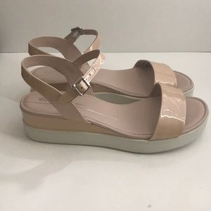 175cac26c53b5 Ecco Shoes | Nude Sandals | Poshmark